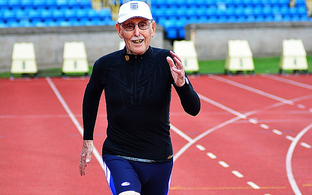 Age is just a number: Charles Eugster